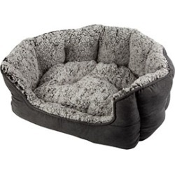 Pets At Home Explorer Berber Scalloped Cat Bed Grey found on Bargain Bro UK from Pets at Home