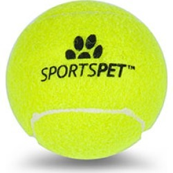 Sportspet Tennis Ball Dog Toy found on Bargain Bro UK from Pets at Home