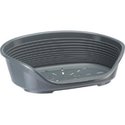 Ferplast Siesta Deluxe 10 Dog Bed Grey Xx Large found on Bargain Bro UK from Pets at Home