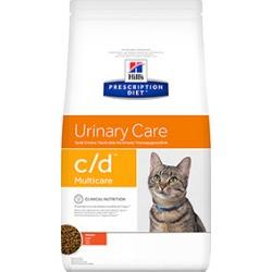 Hill's Prescription Diet C/D Multicare Urinary Care Cat Food Chicken 5Kg