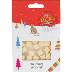 Pets At Home Christmas Freeze Dried Cheese Cubes Cat Treats 25G found on Bargain Bro UK from Pets at Home