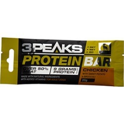 3 Peaks Adult Dog Protein Bar Chicken With Sweet Potato And Broccoli 20G
