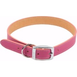 Pets At Home Leather Dog Collar Large Pink found on Bargain Bro UK from Pets at Home