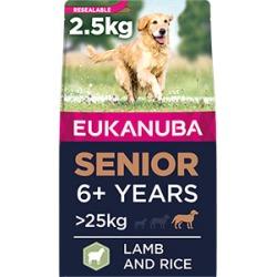 Eukanuba Large Breed Dry Senior Dog Food Lamb And Rice With Turmeric 2.5Kg