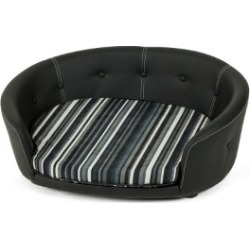Scruffs Regent Faux Leather Sofa Black Large found on Bargain Bro UK from Pets at Home
