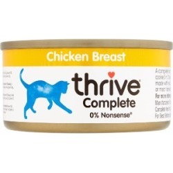 Thrive Complete Chicken Food For Cats 75G found on Bargain Bro UK from Pets at Home
