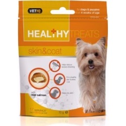 Vetiq Healthy Treats Skin And Coat For Dogs And Puppies 70G