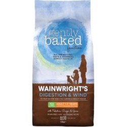 Wainwright's Adult Gently Baked Digestion And Wind Dog Food 1.5Kg