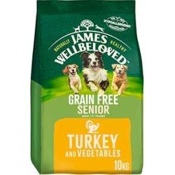 James Wellbeloved Dog Food Grain Free Turkey And Veg Senior