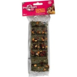 Pet's Menu Snap'N'share Forage Bar With Mixed Vegetables Small Animal Treat 35G
