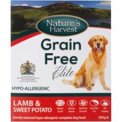 Nature's Harvest Grain Free Elite Lamb & Sweet Potato 395G