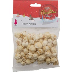 Pets At Home Christmas Cheesy Popcorn Cat Treats 20G found on Bargain Bro UK from Pets at Home
