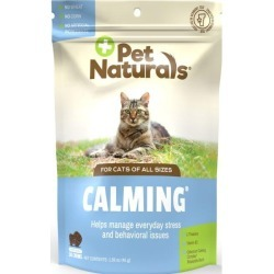 Pet Naturals Calming for Cats 30 Chews Cat Health