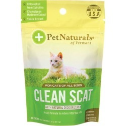 Pet Naturals Clean Scat for Cats 45 Chews Cat Health