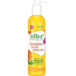 Alba Botanica Natural Hawaiian Facial Cleanser - Pineapple Enzyme 8 fl oz Liquid Skin Care