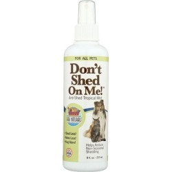 Ark Naturals Don't Shed On Me 8 fl oz Liquid Cat Grooming
