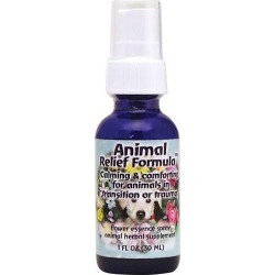 Flower Essence Services Animal Relief Formula 1 fl oz Liquid Cat Health