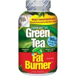 Applied Nutrition Green Tea Fat Burner 90 Soft Gels Health and Weight Loss