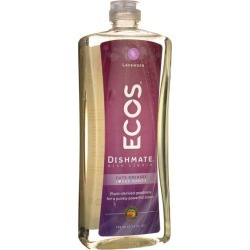 Earth Friendly Products Ecos Dishmate Dish Liquid - Lavender 25 fl oz Liquid Cleaning Products