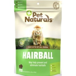 Pet Naturals Hairball for Cats 30 Chews Cat Health