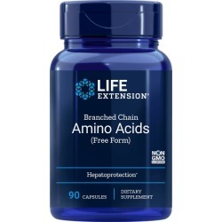 Life Extension Branched Chain Amino Acids (Free Form) 90 Caps Amino Acids