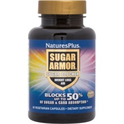 Natures Plus Sugar Armor Blocker 60 Veg Caps Weight Loss