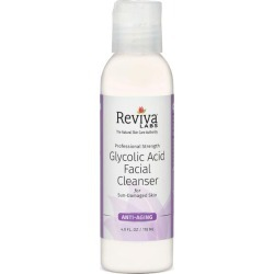 Reviva Labs Professional Strength Glycolic Acid Facial Cleanser 4 fl oz Liquid Skin Care