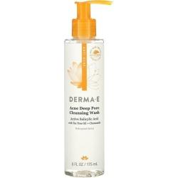 Derma E Very Clear Acne Cleanser 6 fl oz Liquid Skin Care