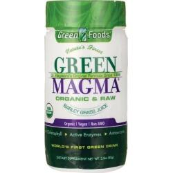 Green Foods Magma Barley Grass Juice Powder 2.8 oz Powder