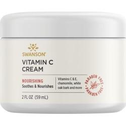 Swanson Premium Vitamin C Cream 2 fl oz Cream Skin Care