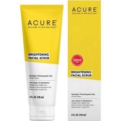 Acure Brightening Facial Scrub 4 fl oz Scrub Skin Care