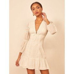 Cecille Dress found on MODAPINS from the reformation for USD $278.00