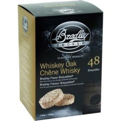 Bradley Smoker Flavor Bisquettes; Whiskey Oak 48-Pack