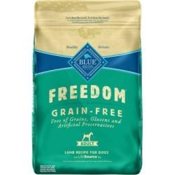Blue Freedom Grain-Free Lamb Recipe Adult Dog Food, 24 lb.
