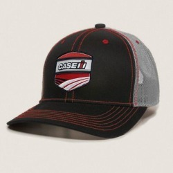 Case IH Men's Woven Patch Logo Trucker Baseball Cap found on Bargain Bro India from Tractor Supply for $16.99