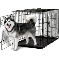 Paws & Pals Double Door Dog Training Crate, PTCG01-24