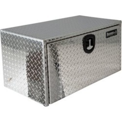 Buyers Products 14 in. x 12 in. x 24 in. Diamond Tread Aluminum Underbody Truck Box