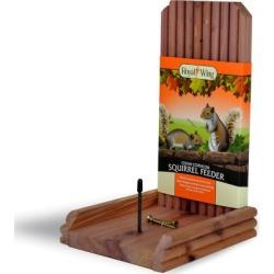 Royal Wing Cedar Squirrel Depot Feeder