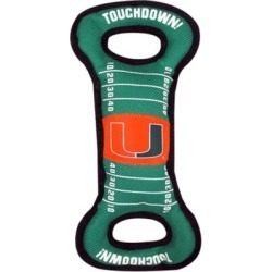 Pets First Co. Miami Hurricanes Pet Field Toy