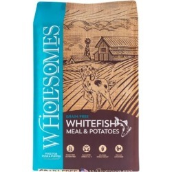 Wholesomes Grain-Free Whitefish Meal & Chickpeas Grain-Free Formula Dog Food, 35 lb.