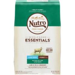 NUTRO Wholesome Essentials Large Breed Adult Lamb & Rice Recipe 30 lb.