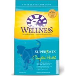 Wellness Complete Health Super5Mix Whitefish & Sweet Potato Recipe Dog Food, 30 lb.