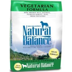 Natural Balance Vegetarian Formula Dry Dog Food, 28 lb.