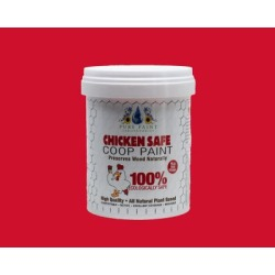 Pure Paint Laboratories Bright Red Chicken Coop Paint; PP201