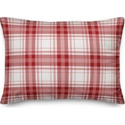 Designs Direct Red And White Plaid 14 in. x 20 in. Throw Pillow, 5821-Z1 found on Bargain Bro Philippines from Tractor Supply for $29.99