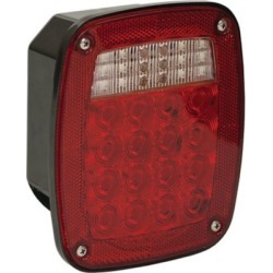 Buyers Products 5.75 in. Red Stop/Turn/Tail Light