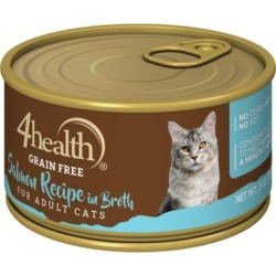 4health Grain-Free Salmon Recipe in Broth for Cats; 3 oz. Can found on Bargain Bro India from Tractor Supply for $0.54