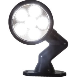 Buyers Products 5 in. Articulating Clear Round Spot Light