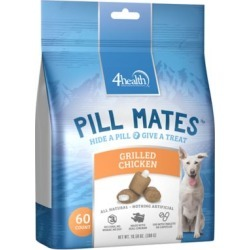 4health Pill Mates Grilled Chicken Flavor; 4HPMC-60