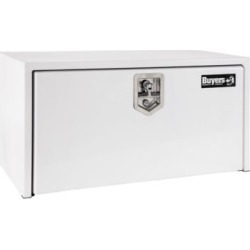 Buyers Products 14 in. x 16 in. x 30 in. White Steel Underbody Truck Box